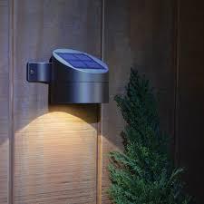 solar powered outdoor wall lights