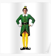 elf movie poster.  Movie Buddy The Elf Christmas Movie Arms Akimbo Will Ferrell Poster In Elf Movie M