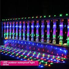 REVIEW] Đèn LED Dạng Lưới Trang Trí Ngoài Trời (220V), giá 140,000đ! Xem  review ngay!