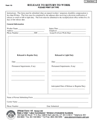 Doctor Notes For Work Free 6 Printable Free Printable Doctors Note For Work Forms And Templates
