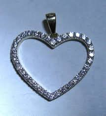9ct gold cubic zirconia heart pendant variant attributes variant attributes variant attributes variant attributes condition new