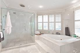 Bathroom Tile Ceiling Beautiful Modern Bathroom With Marble Tiles In Australian Mansion