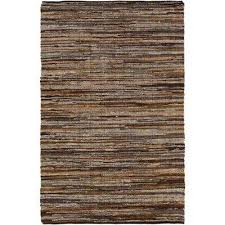 jeremias dark brown 8 ft x 10 ft area rug
