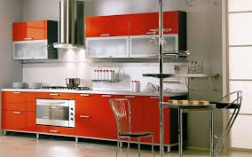 Kitchen Cabinet For Less Kitchen Modern Colorful Kitchen Ideas With Red Modern Laminated