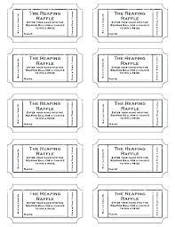 Template For Raffle Tickets To Print Free Free Printable Tickets Template Free Printable Tickets Template