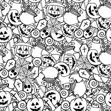 Winter Kleurplaat Volwassenen Throughout Knutselen Halloween