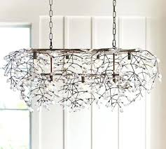 rectangular crystal chandelier new in box pottery barn rectangular crystal chandelier rectangular crystal chandelier canada