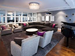 elegant and understated home theater seating