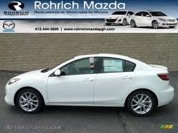 2012 Mazda MAZDA3 s Grand Touring 4 Door in Crystal White Pearl ...