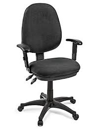 Cashback up to 2.5% 💎. Fabric Task Chair With Adjustable Arms Black H 4112bl Uline
