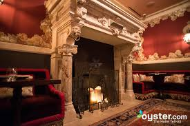 fireplace at the nomad hotel