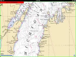 Lake Michigan Nautical Chart Earth Observer Ipad Examples