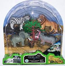 african animals toys. Plain Animals Amazoncom Planet Earth African Animals 7 Piece Play Set With Mat  Toys U0026 Games And M