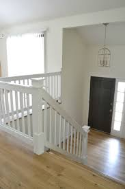 Painted Wood Stairs Top 25 Best Painted Stair Railings Ideas On Pinterest Black