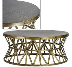 Attractive Coffee Table:Lionel Round Coffee Table Round Brass Coffee Table Beautiful  Brass Ring Coffee Table Good Looking