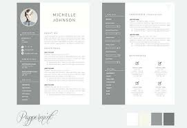 Free Modern Resume Templates Awesome Resume Design Templates Word