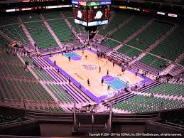 Vivint Smart Home Arena View From Upper Level 106 Vivid Seats