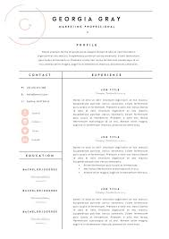 Resume Template 3 Page | CV Template by TheTemplateDepot on  @creativemarket. Fashion CvFashion ResumeFashion Designer ...