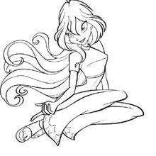 bloom la leader des winx 6gczj bloom the winx club fairy coloring pages hellokids com on coloring pages winx