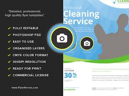 commercial cleaning flyer templates cleaning service flyer template flyerheroes