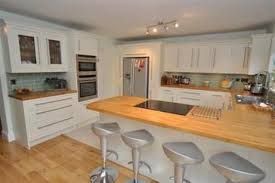 fitted kitchens ideas. Fitted Kitchen Cream Shaker Units With Solid Oak Worktops \u0026 Fired Earth Metro Tiles Limehouse - Fitters Glasgow Kitchens Ideas