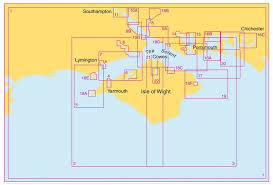 Chart Folio System Of The Ship Admiralty Sc5600 The Solent And Approaches Leisure Chart Folio