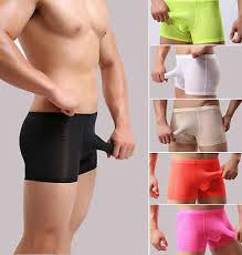 Separatec Size Chart Sexy Men Smooth Separate Pouch Underwear Trunks Underpants