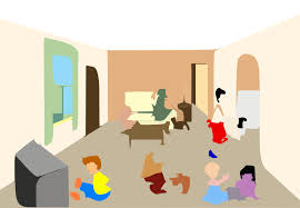 family room clipart. living room clip art family clipart a
