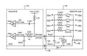 patent us8260380 headset remote control google patents patent drawing