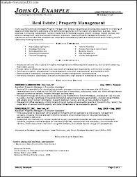 Property Management Resume Sample Property Manager Resume Sample