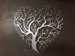 metal wall decor heart shape tree design on wall art heart designs with metal wall decor heart shape tree design almosthomebb