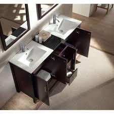 Bathroom Vanity Set Ariel Bath Hanson 60 Double Bathroom Vanity Set With Mirror