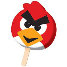Angry Birds Face Bar - Avalon Ice Cream And Candy Los Angeles