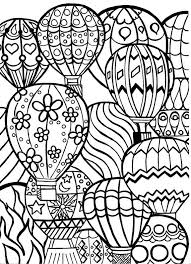 hot air balloon coloring page. Plain Page 30 Best Color Pages Images On Pinterest Hot Air Balloon Coloring Page For  Adults With I