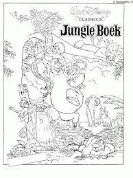 Jungle Book Kleurplaat Kleurplaten 2208 Kleurplaat Kleurennet