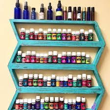 wood shelf oil storage boho decor oil shelf arrow decor oil rack tribe decor chevron nail polish rack oil holder