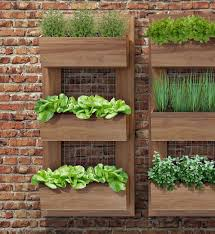Vertical planters for the perfect kitchen herb garden