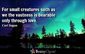 Carl Sagan Love Quote Stunning Carl Sagan Love Quote Print Best Quotes Everydays