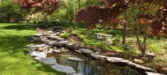 edging a garden pond