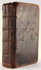 michaelmoonsbook michaelmoonsbook beautiful early century book from with rare angels and heart embossed design sold