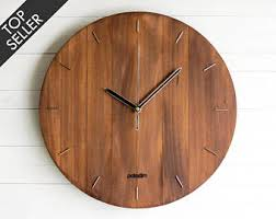 wall clock for office. Wall Clock, Steampunk Modern Wooden Living Room Clock For Office