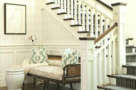 entrance foyer furniture. Bench For Foyer Wainscoting Transitional Entrance Designs Canada Furniture