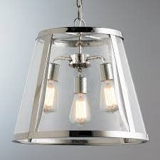 large glass pendant light. Seeded Glass Transitional Pendant Light - Large Polished_nickel T