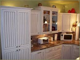 white beadboard cabinet doors. White Beadboard Kitchen Cabinet Doors Combined With Marble Door Diy Ideas
