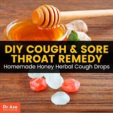 homemade cough drops dr axe