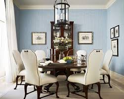 blue dining room.  Dining Beautiful Rooms In Blue And White Traditional Home With Dining Room  Decorations 5  O