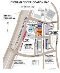 Location Parking Eisemann Center