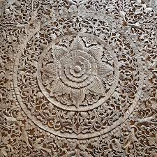teak carving wood carving decorative paneling wall hanging siam sawadee