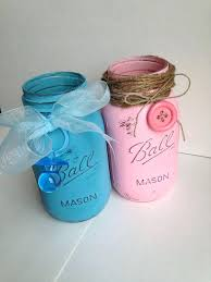 Decorating Mason Jars For Baby Shower mason jars centerpieces ideas diffractions 54