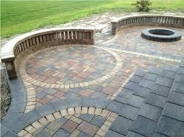 brick paver patio pictures garden backyard brick patio designs ideas green of how to make